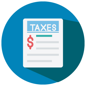 Business Taxes Icon