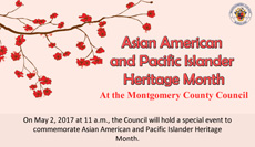 Asian American month banner