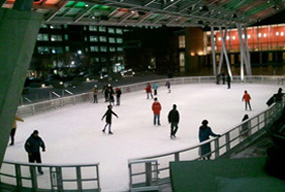 Silver Spring Plaza-ice skating