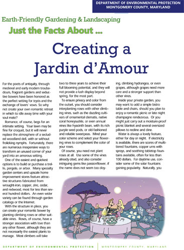 Creating a Jardin d'Amour