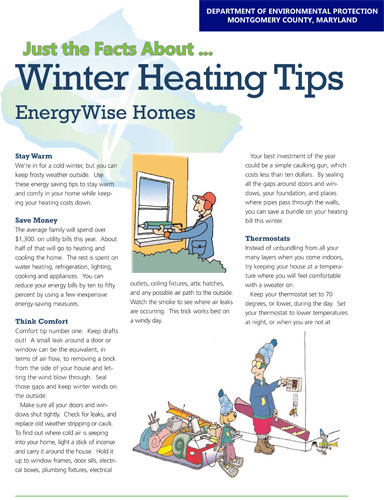 Winter Heating Tips