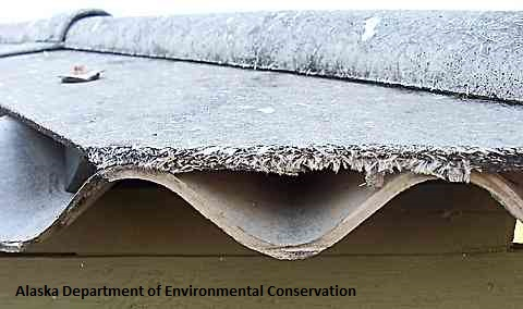 Image of Asbestos on roof