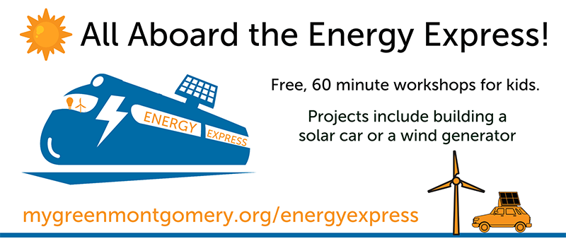 Participate in the Energy Express activities at Public Libraries