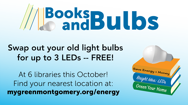 Attend a Books and Bulbs event in October.
