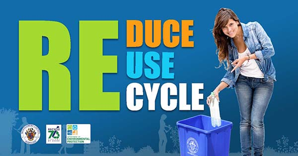 Reduce, Reuse, Recycle & Recycle Right