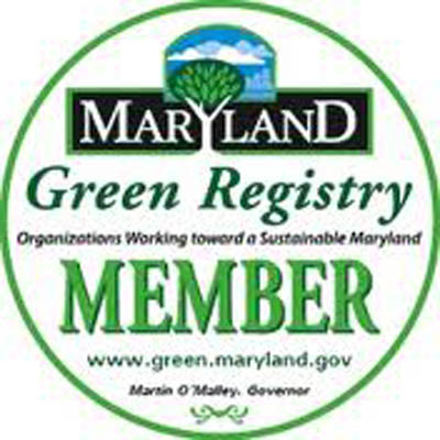 Logo of the Maryland Green Registry.