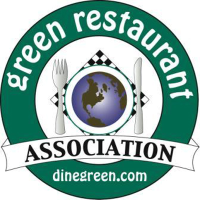 Logo of the Green Restaurant Association.