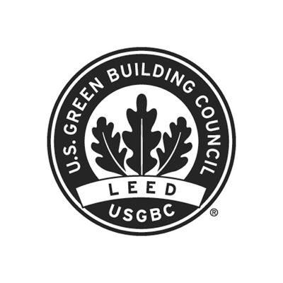 Logo for the U.S. Green Building Council LEED Certification.