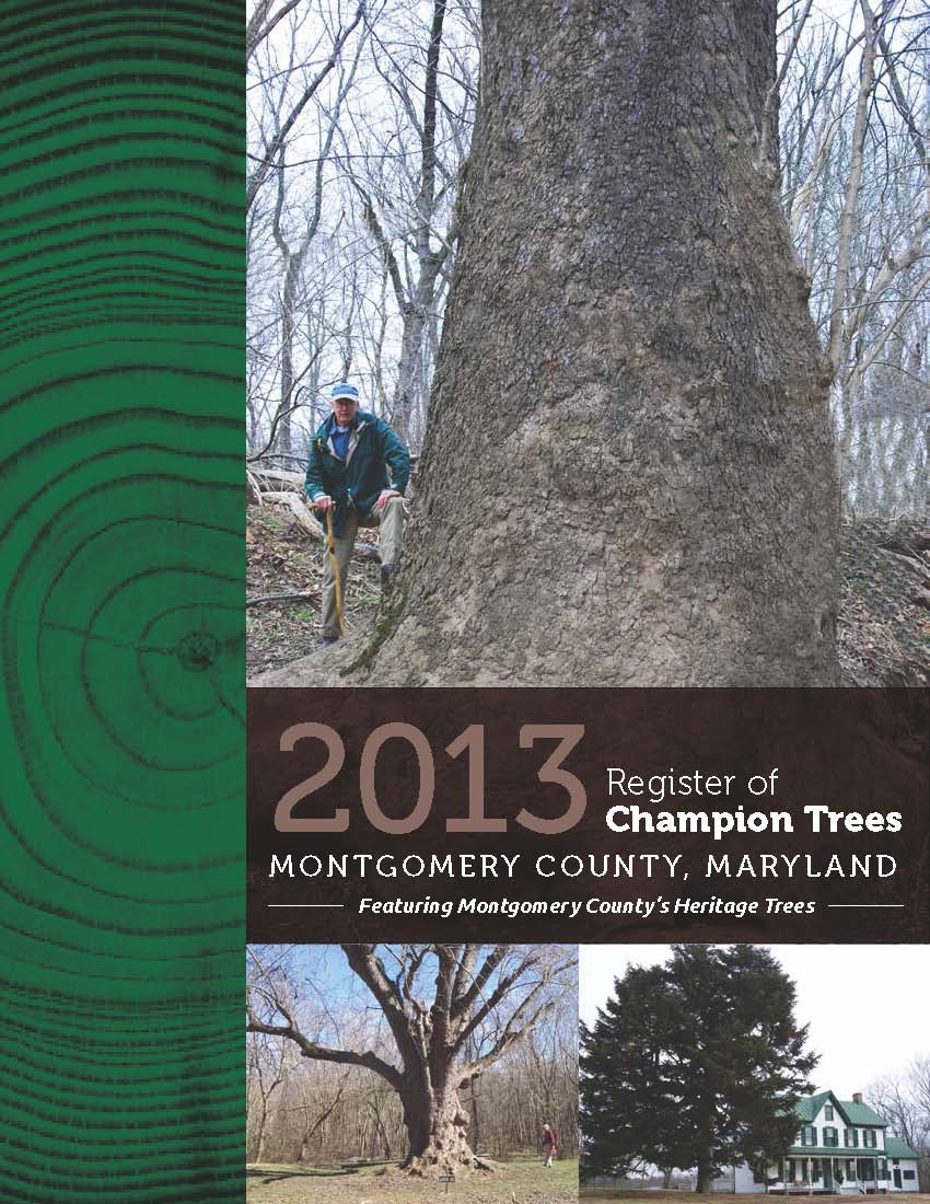 Image of 2013 Register of Trees Cover