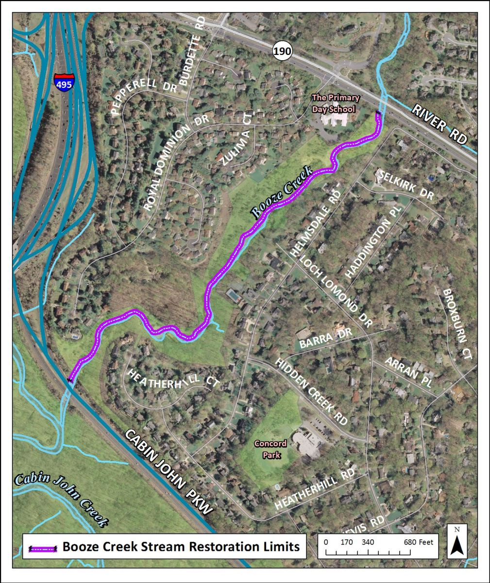 Image of Booze Creek Stream Restoration Area