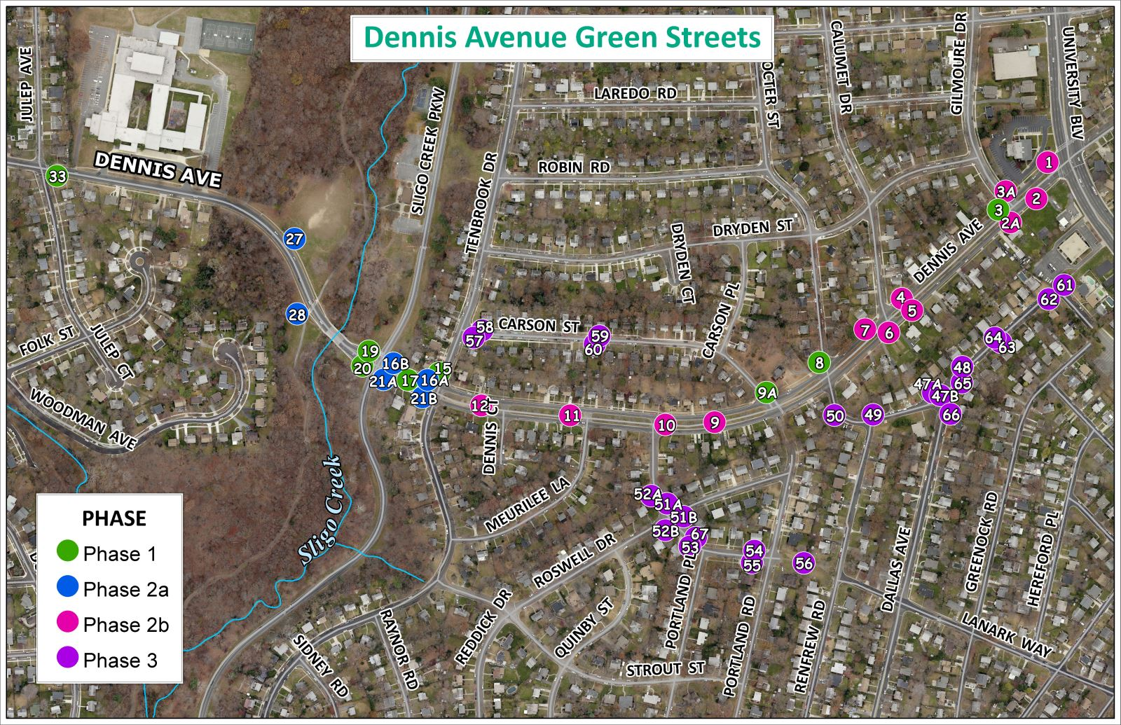 Image of Dennis Avenue Green Streets
