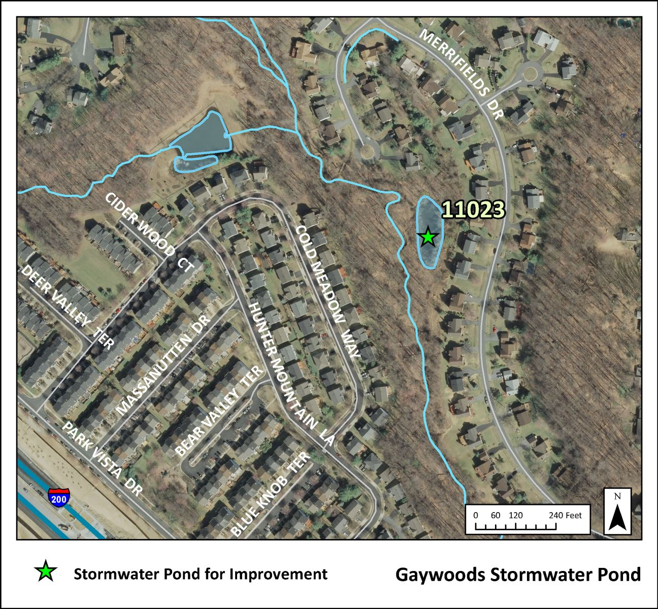 Image of Gaywoods Project Map