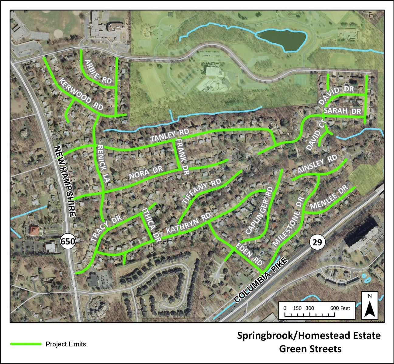 Image of Springbrook and Homestead Estates