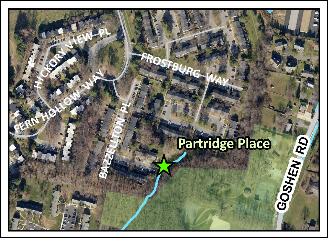 Ponds department of environmental protection montgomery county md - Image Of Patridge Place Stormwater Pond