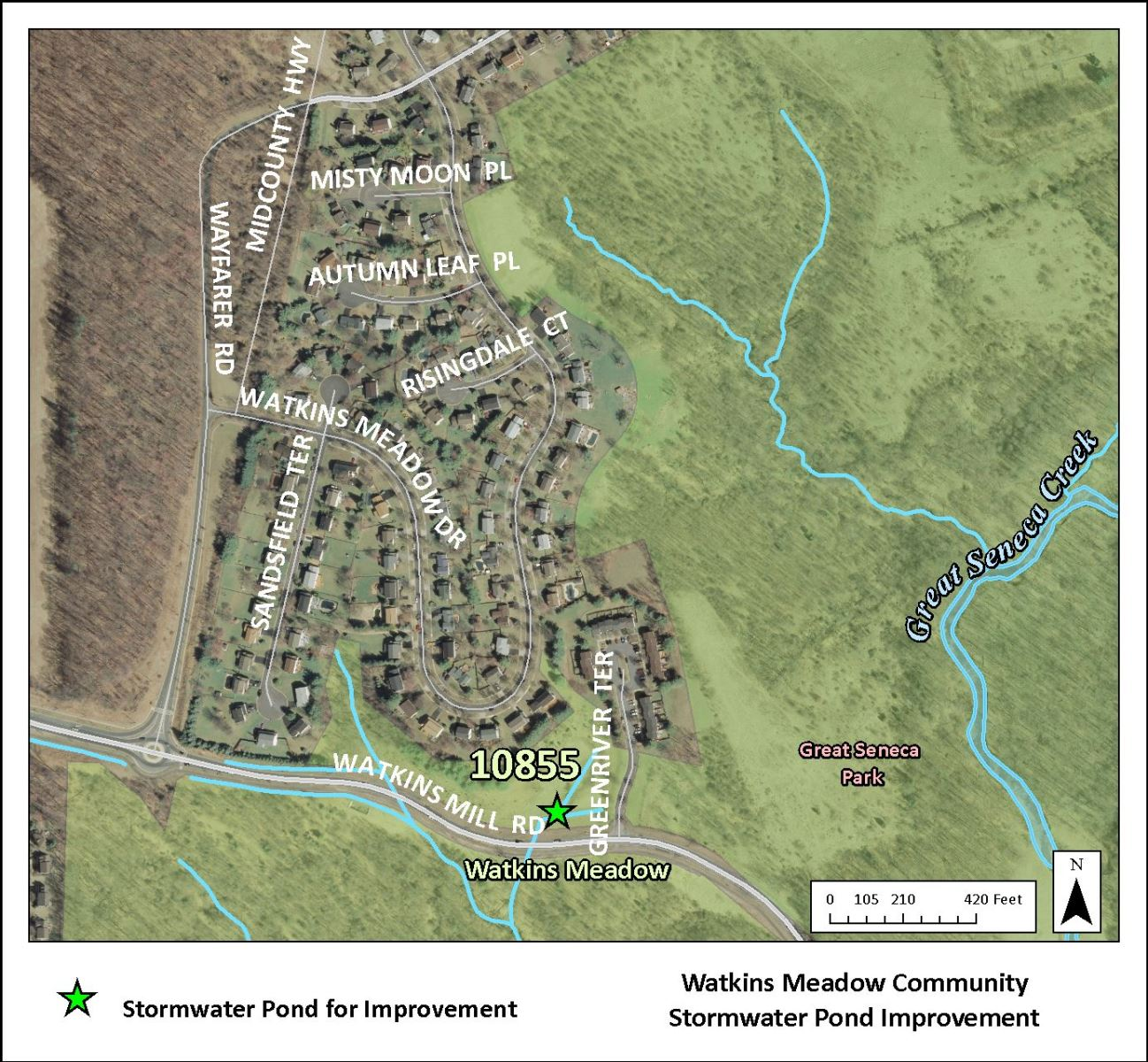 Image of Watkins Meadow Map