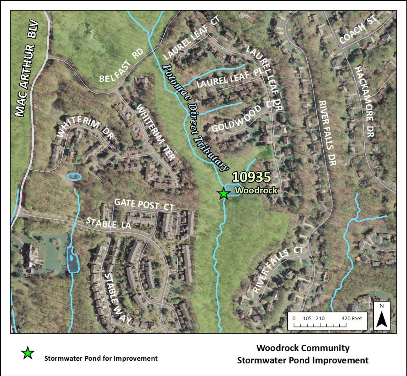 Image of Woodrock Stormwater Pond