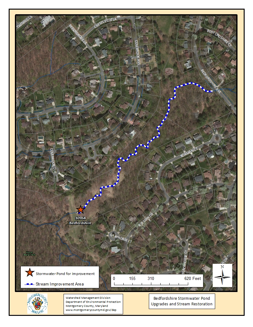 Ponds department of environmental protection montgomery county md - Bedfordshire Project Map