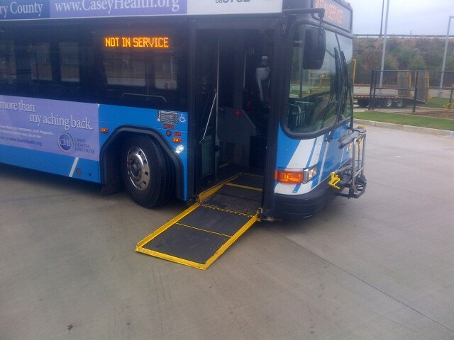 Ride-on Bus Wheelchair Access Ramp