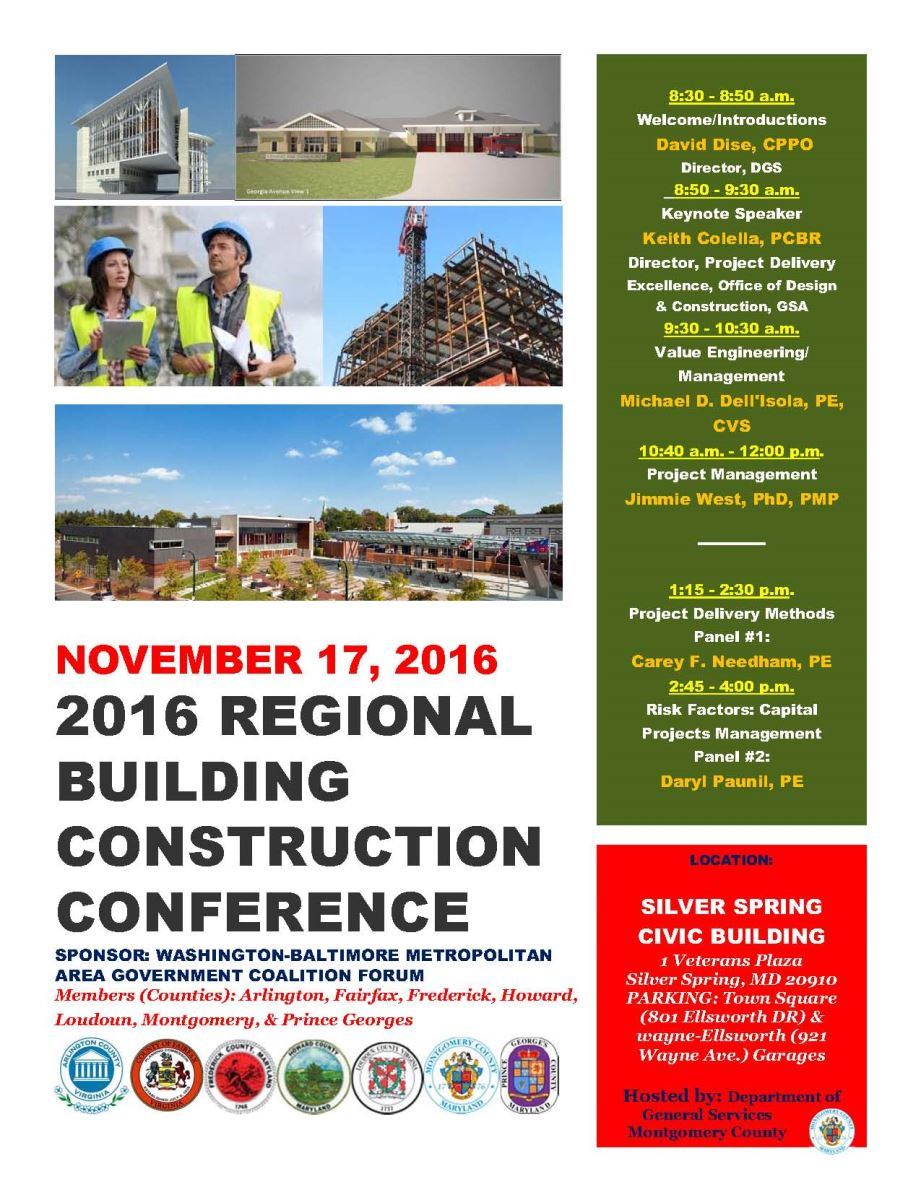 Building Construction Conference Flyer