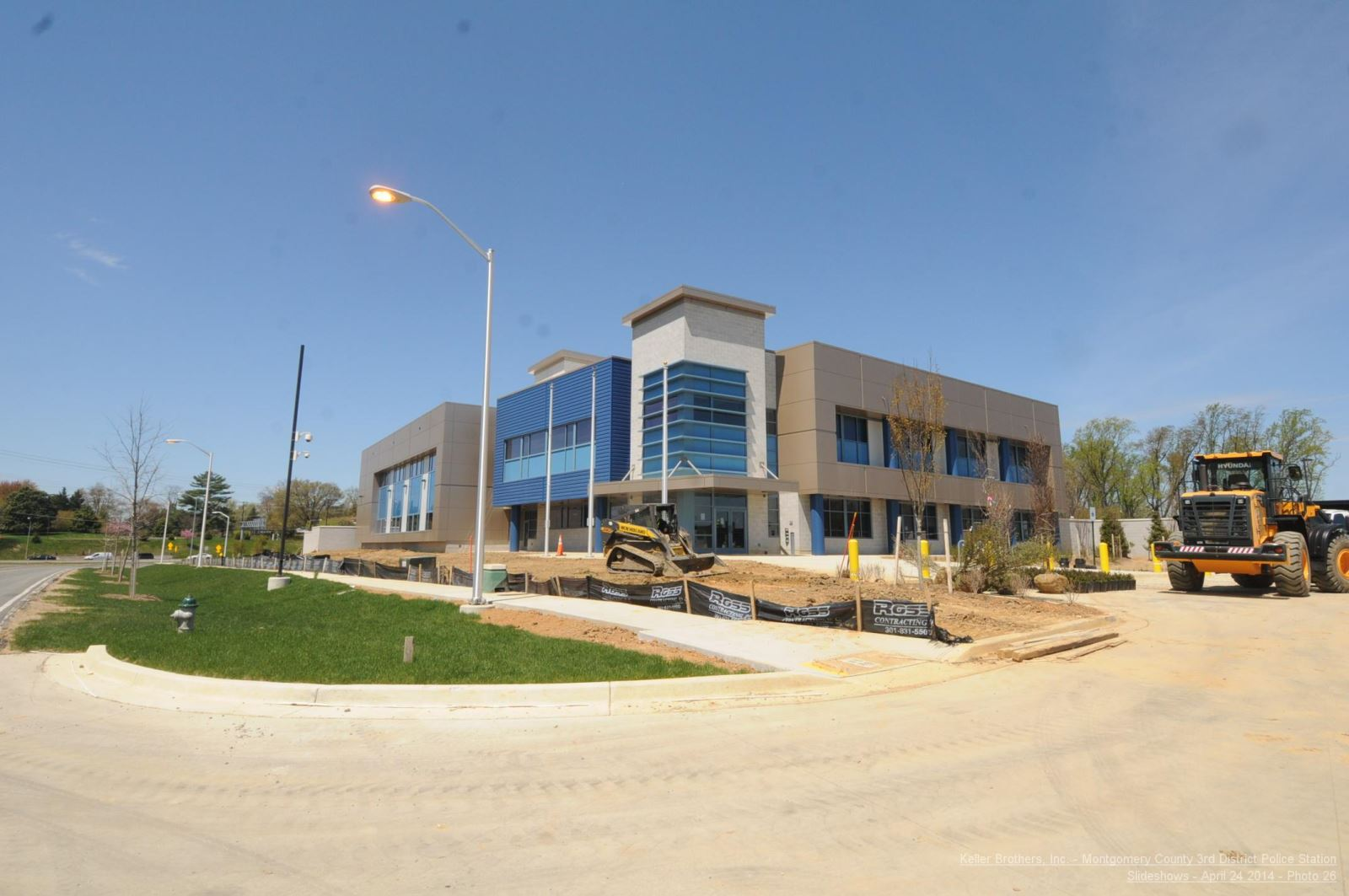 3rd District Police Station - construction picture 12