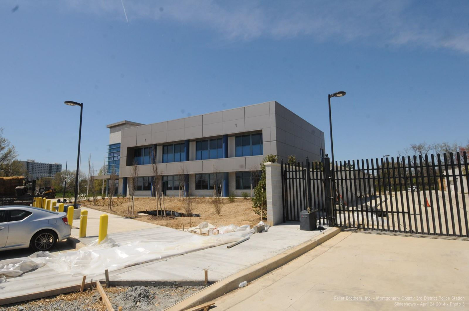 3rd District Police Station - construction picture 3