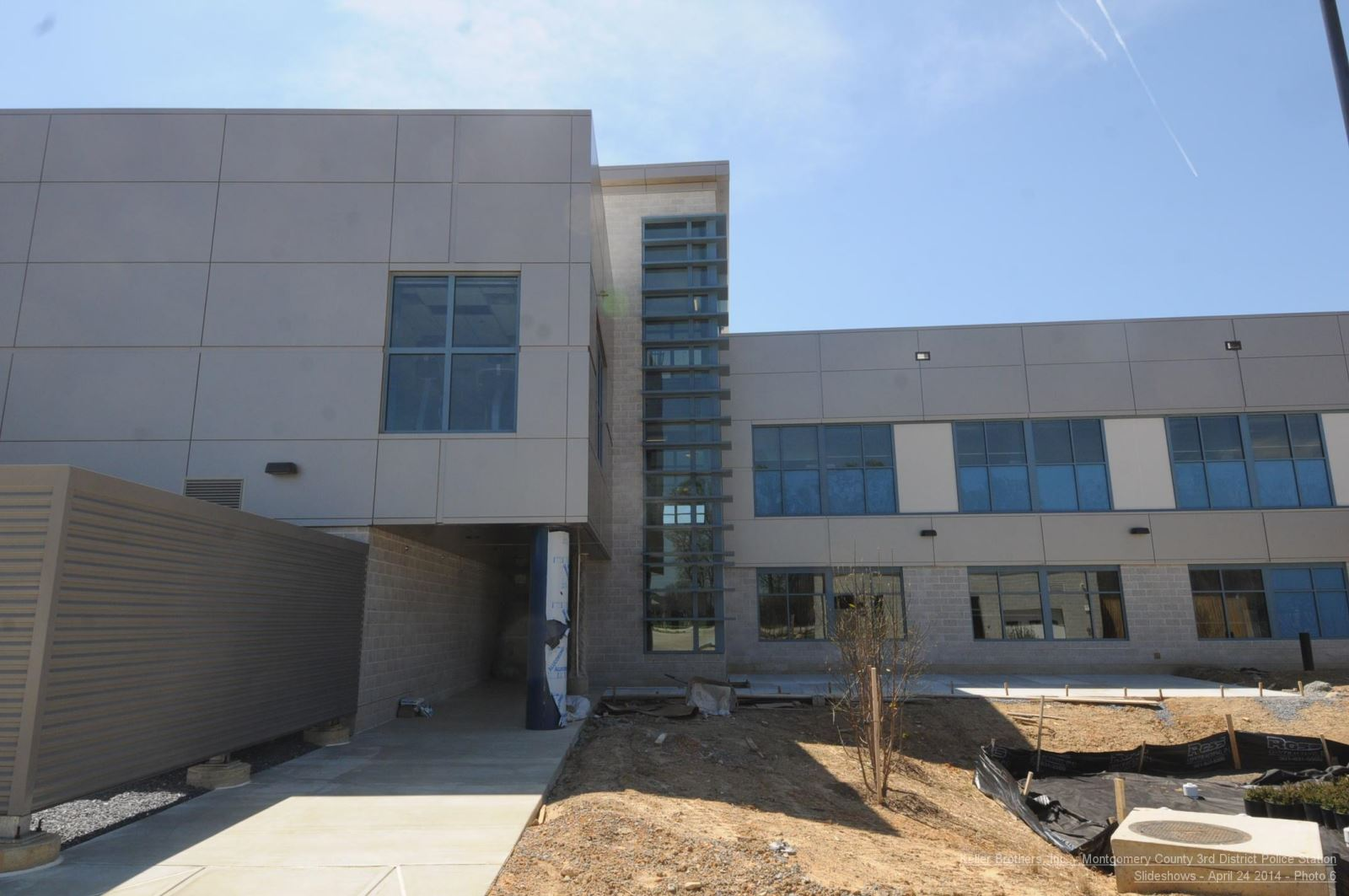 3rd District Police Station - construction picture 5