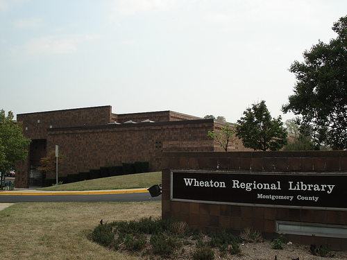 Picture of the Wheaton Library