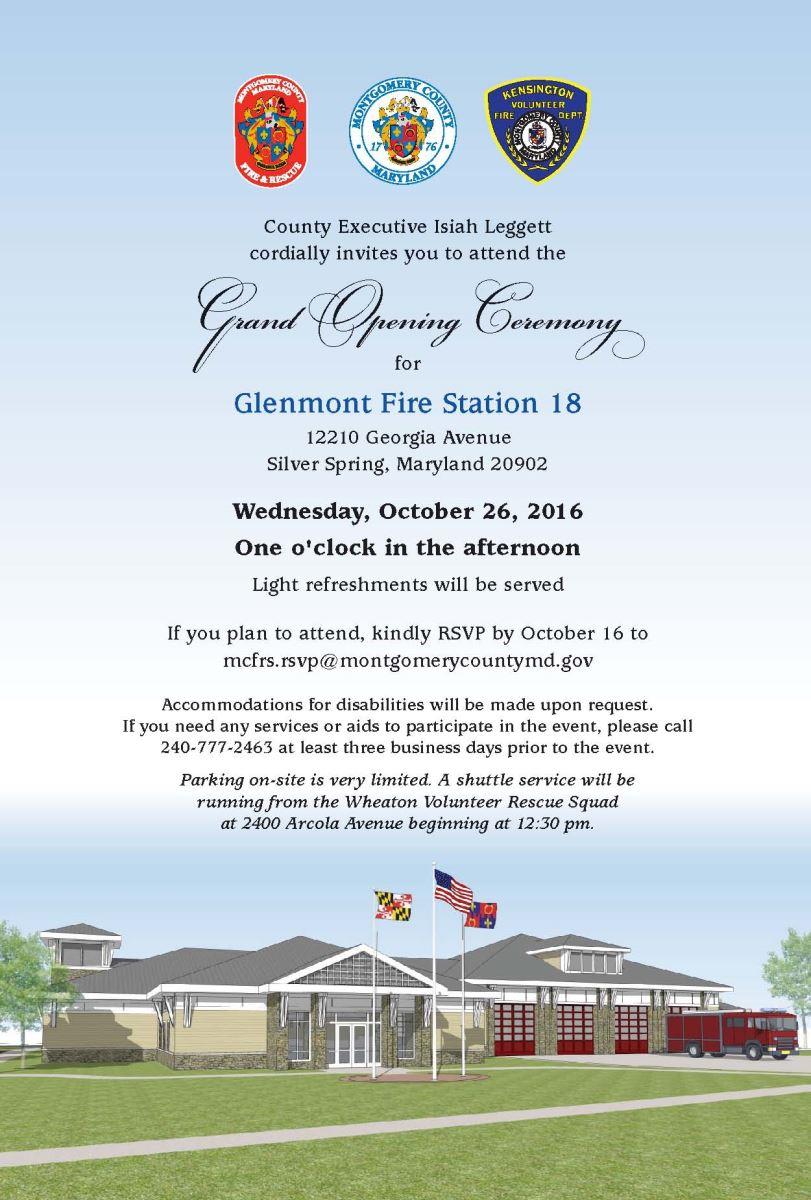 Glenmont Fire Station 18