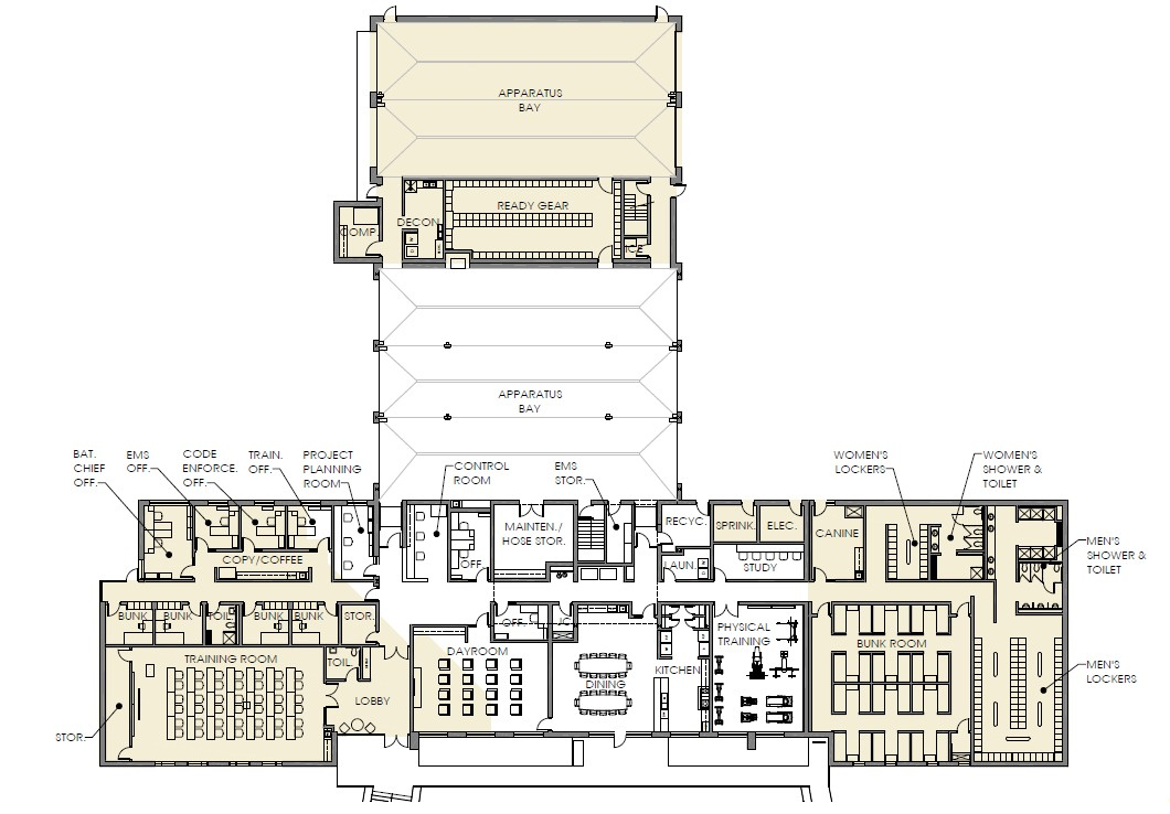 photo fire station floor plans images small fire