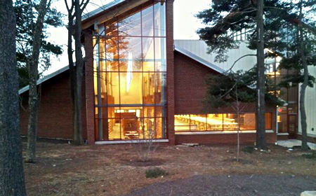 Picture of the Olney Library Renovation and Addition