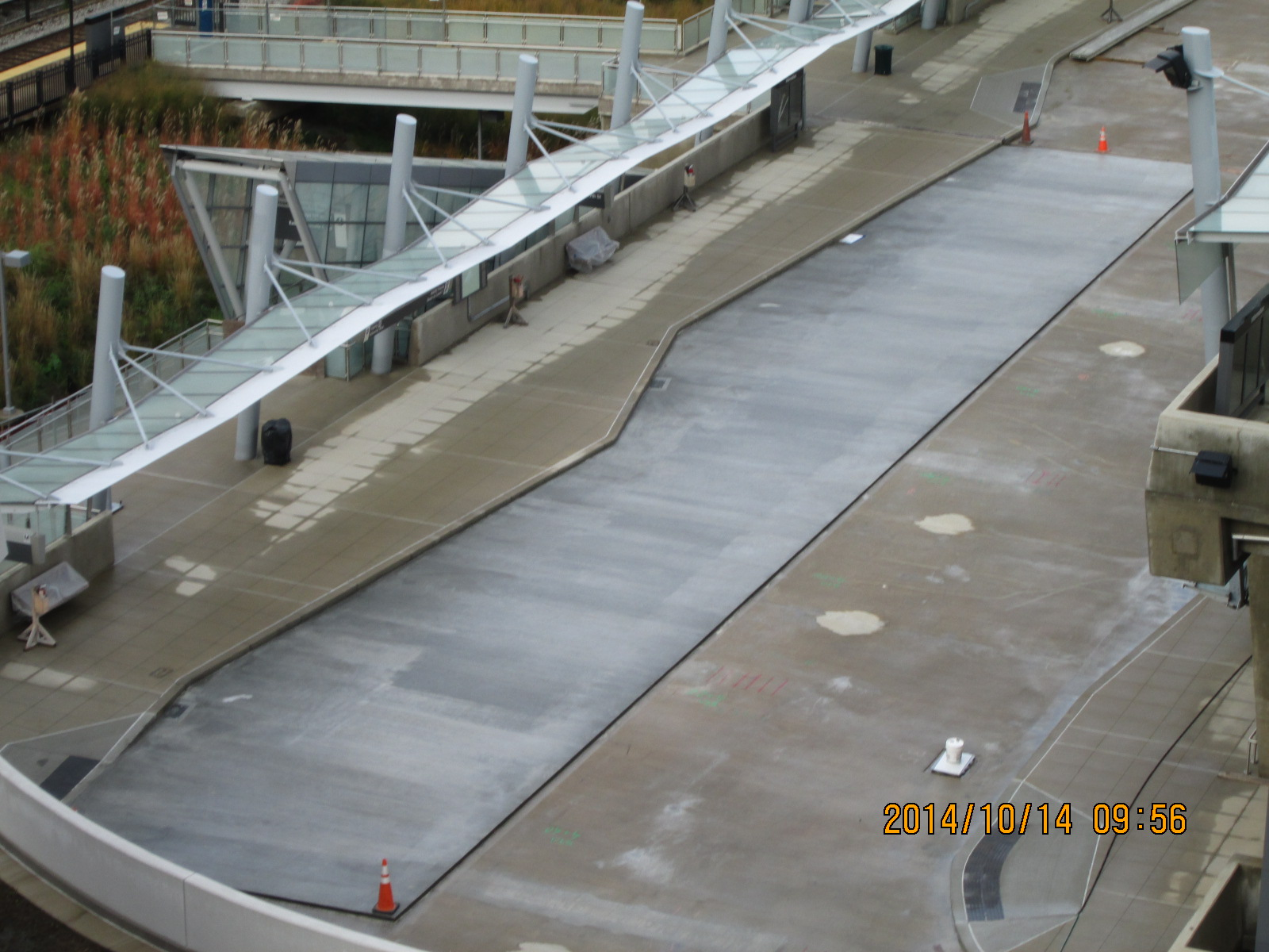 Silver Sprint Transit Center - construction image