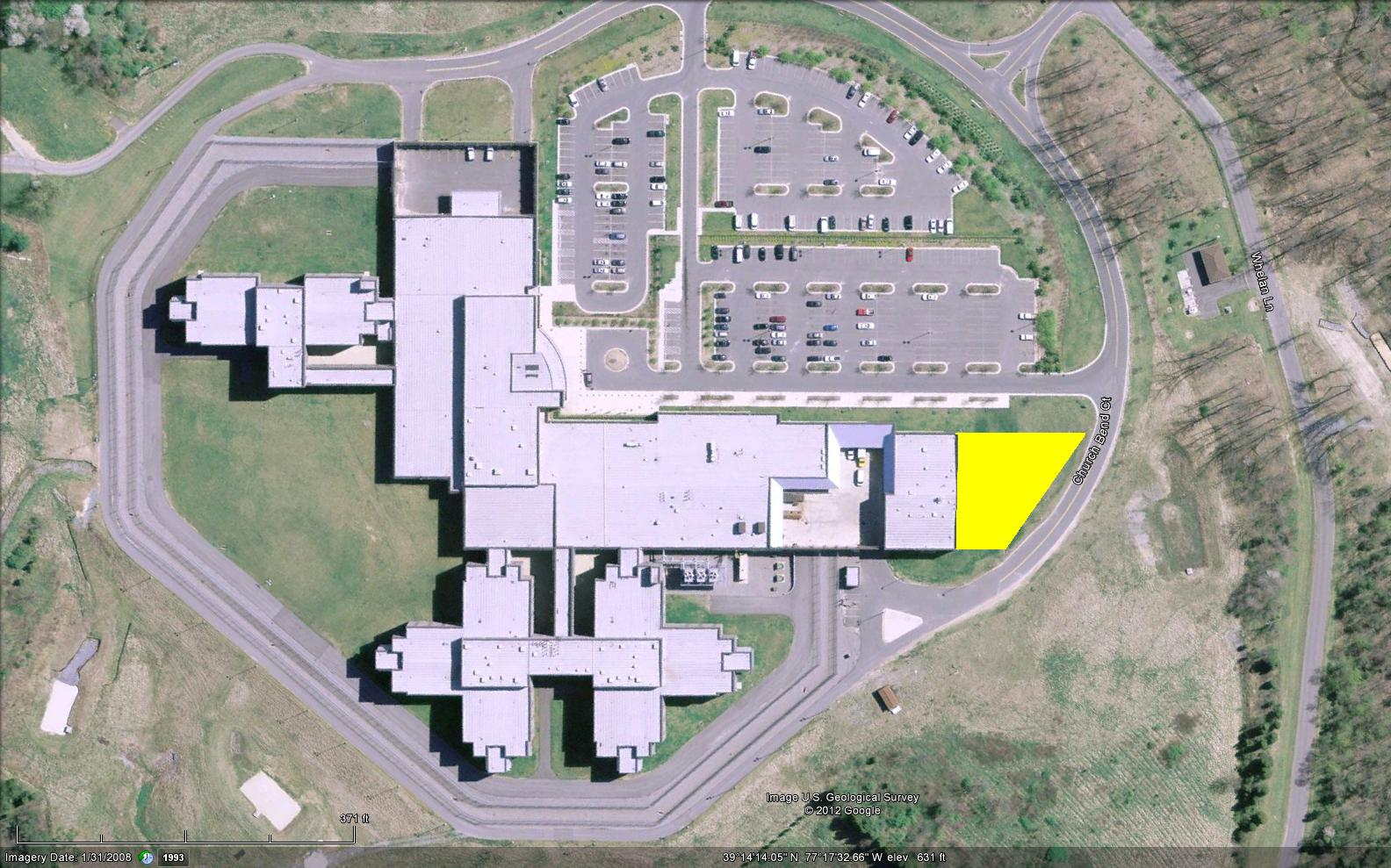 Department of Correction and Rehabilitation Staff Training Center - Site Map