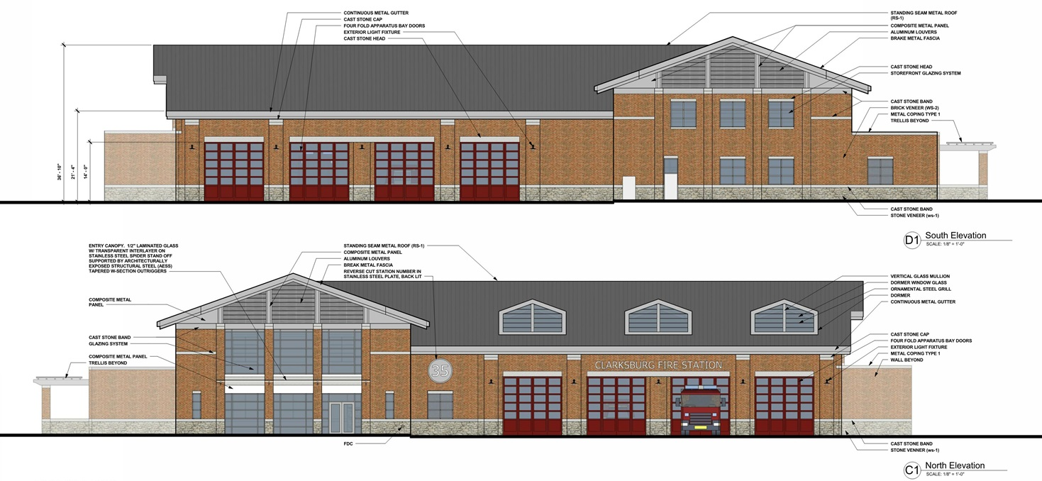 clarksburg fire station no  35