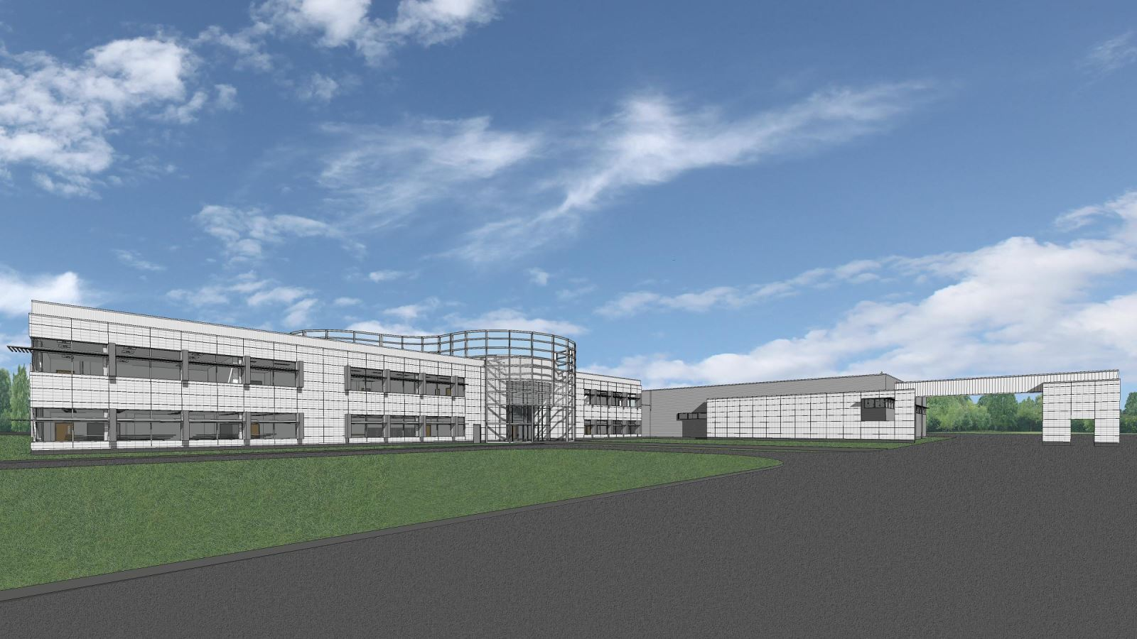 MASP & PSTA Project 3: Public Safety Training Academy - PSTA Exterior View