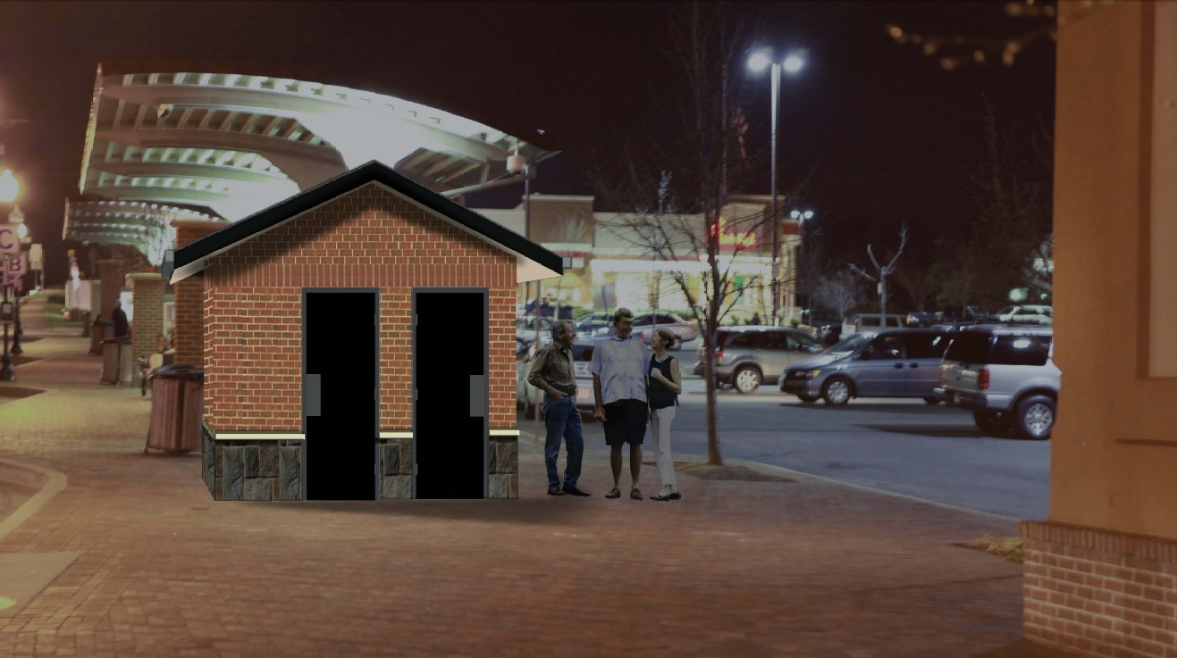 Germantown Transit Center Improvements - Rendering 2