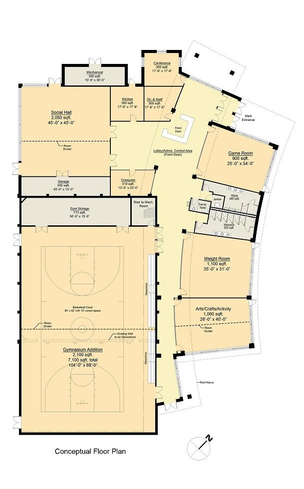 small recreation center floor plans thefloors co
