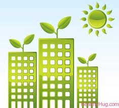 Green Building Graphic
