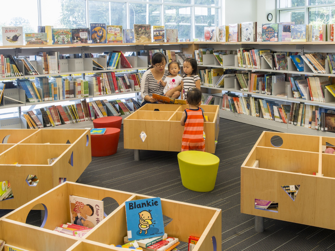 Gaithersburg Library Recycled Construction Materials