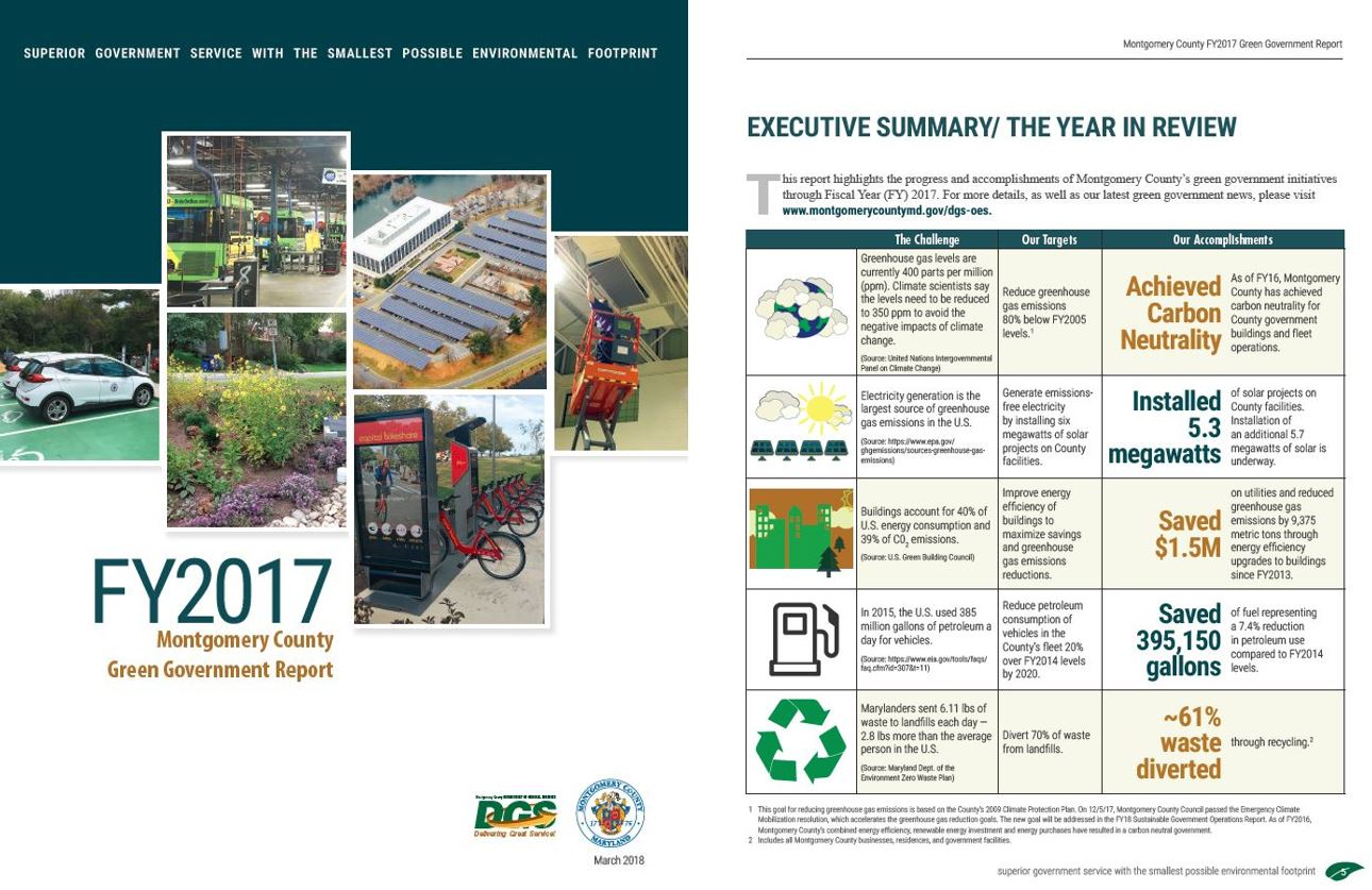 2017 Green Government Report