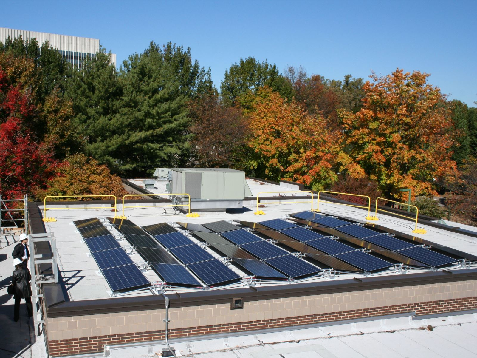 Solar Panels at Jane Lawton Recreation Center