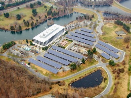 Solar Panels at Montgomery County Correctional Facility