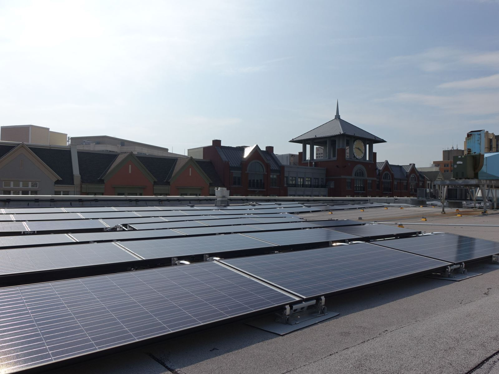 Solar Panels at Rockville Library
