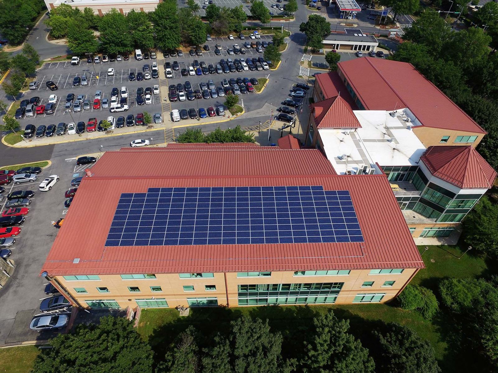Solar Panels at Upcounty Regional Services Center