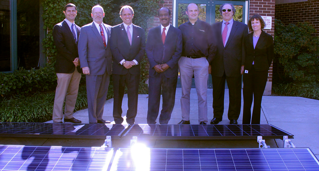 Solar initiative opening ceremory