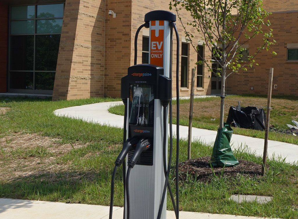 Electrical veihcle charge station