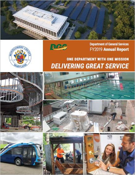 DGS 2018 Annual Report cover page