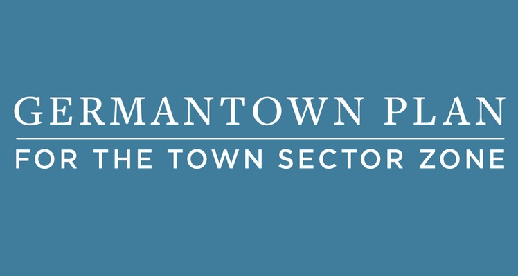 Germantown Plan for the Town Sector Zone