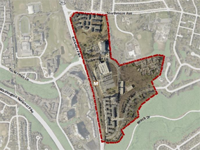 Picture of Grosvenor-Strathmore sector plan