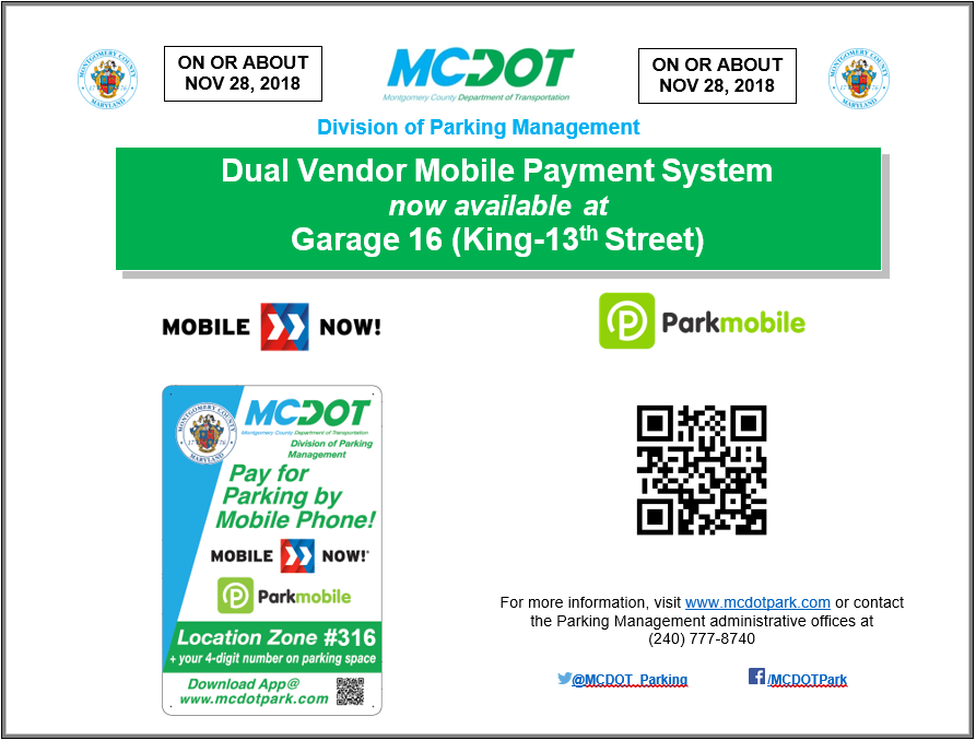 Garage 16 Dual Mobile Payment System