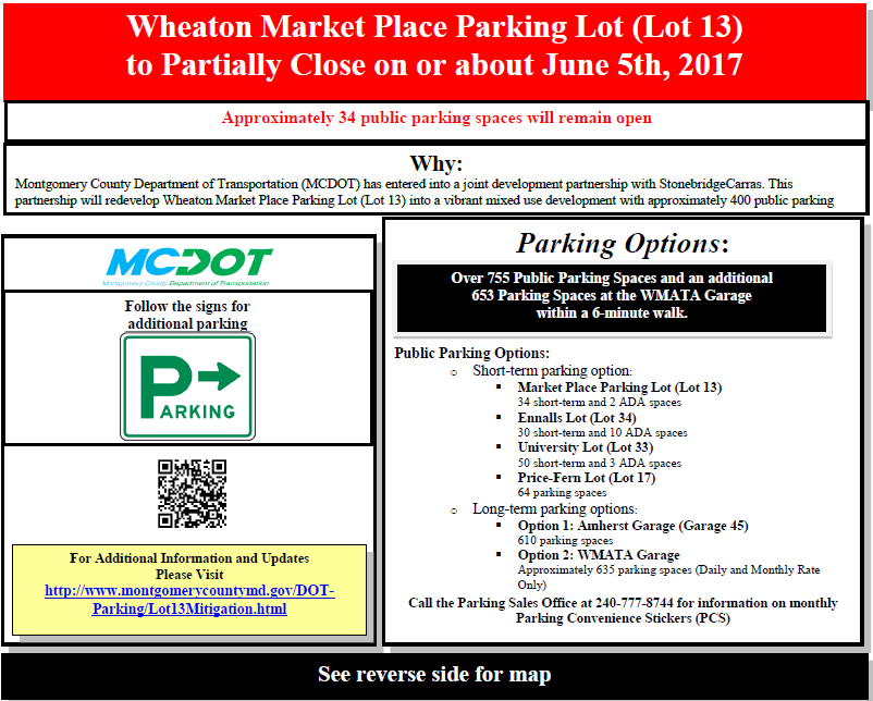 Lot 13 - Wheaton Market Place Lot